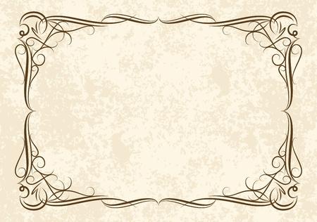 wine  shabby: Elegant vintage background.  Illustration