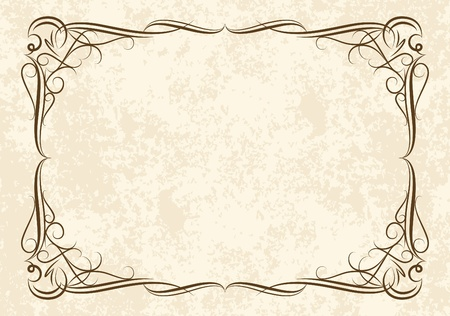 Elegant vintage background.  Vettoriali