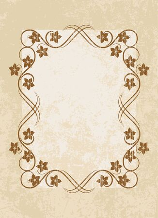 Vintage vector background.  Vector