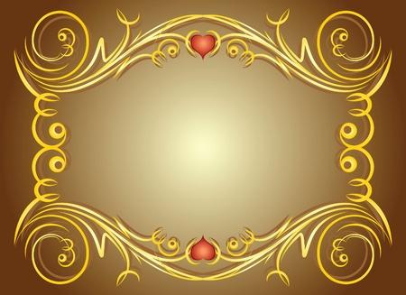 Elegant frame.  Vector