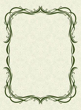 Decorative frame Stock Vector - 10709121