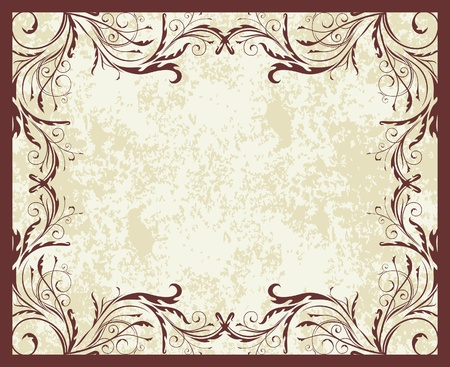 Elegant vintage background  Vector