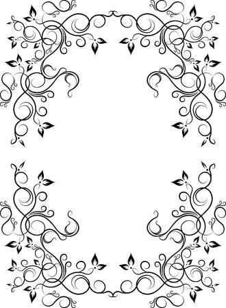Elegant decorative frame. Stock Vector - 10707536