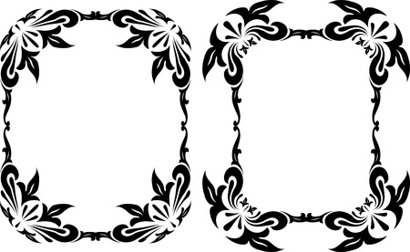 floral frames Stock Vector - 10707264