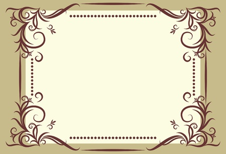 Vintage vector background.  Illustration