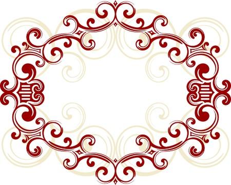 Decorative frame. Stock Vector - 10707077