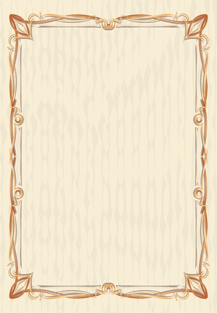twigs: Elegant vintage background.  Illustration