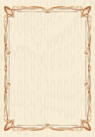 twig: Elegant vintage background.  Illustration
