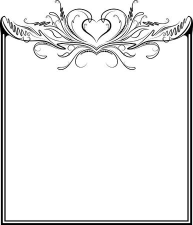Decorative frame.  Vector