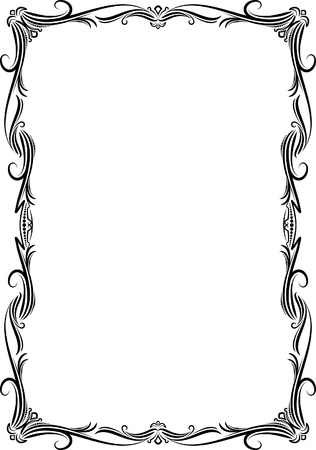 Elegant decorative frame. Stock Vector - 10707329