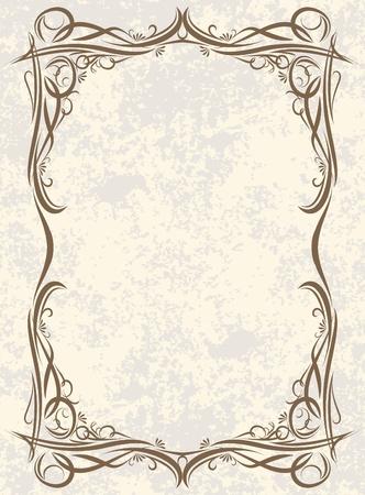 エレガントなビンテージ背景。  イラスト・ベクター素材