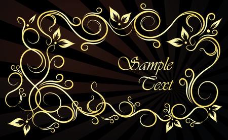 national  emblem: Frame for text  Illustration