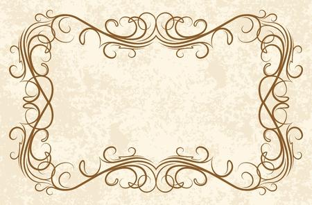 threadbare: vecchio telaio (vettore)