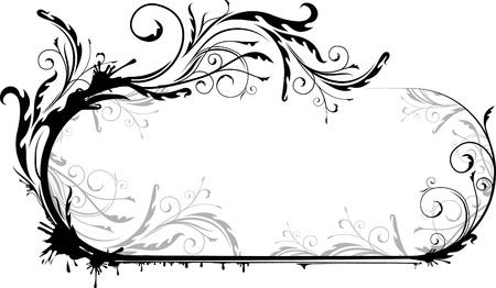 Elegant oval frame  Stock Vector - 10707436