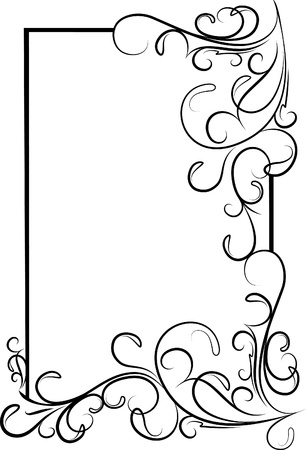 Decorative frame Stock Vector - 10707256