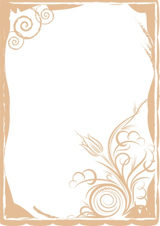 Elegant background. A lot of similar images in my gallery.  Vector