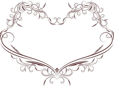 etiqueta: heart frame