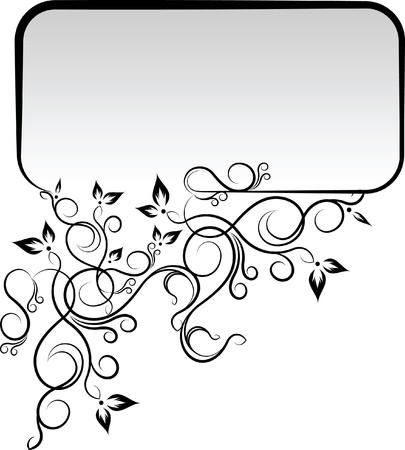 Elegant text frame. Stock Vector - 10707294