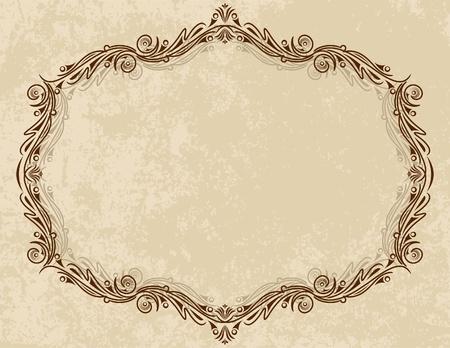 ringlet: Elegant vintage frame