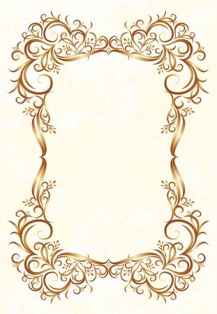 decorative vintage background  Illustration