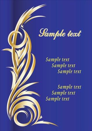 Elegant texts background. Vector illustration.  Vector