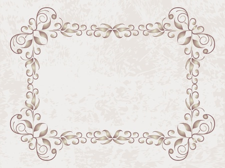 decorative vintage background  Illustration