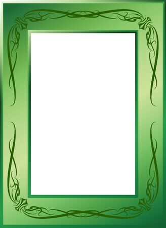 gothic revival style: Vintage vector frame.