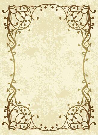 Elegant vintage background. Stock Vector - 10708841