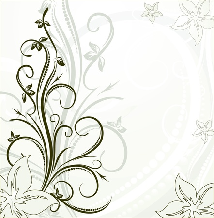 decorative branch for design  Vector