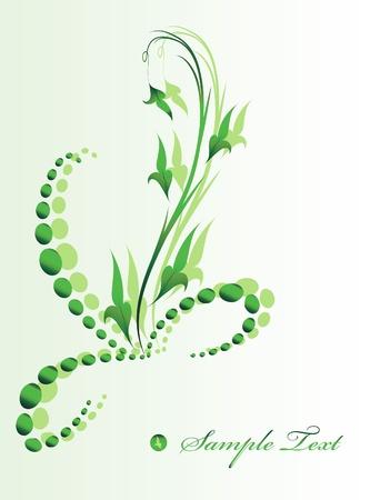 esquineros florales: Esquina floral.