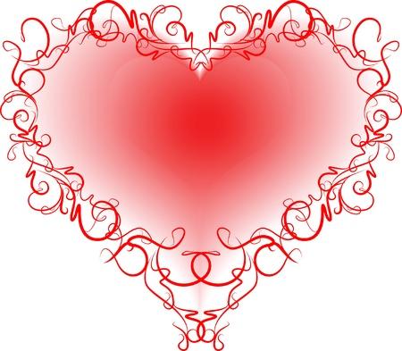 rhetorical: Abstract heart.