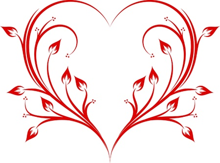 Abstract heart.