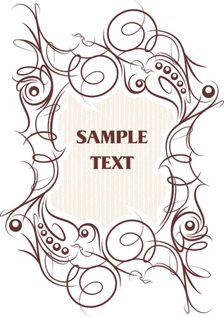 textual: Shabby background with flower. A lot of similar images in my gallery.