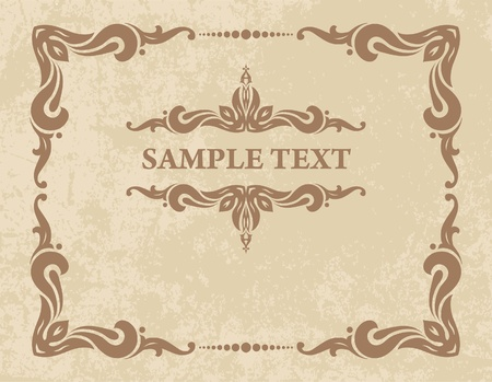 decorative vintage background  Stock Vector - 10709067