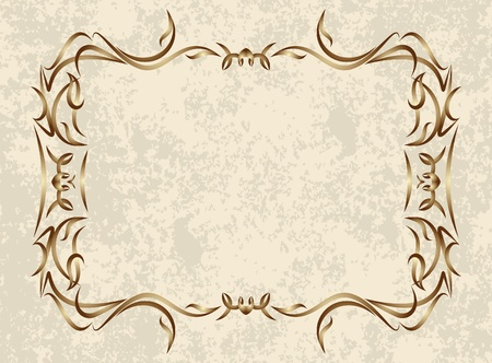decorative vintage background Stock Vector - 10708839