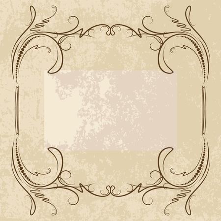 decorative vintage background  Vector