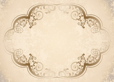 decorative vintage background  Stock Vector - 10708955