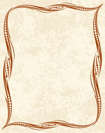 royal rich style: decorative vintage background  Illustration