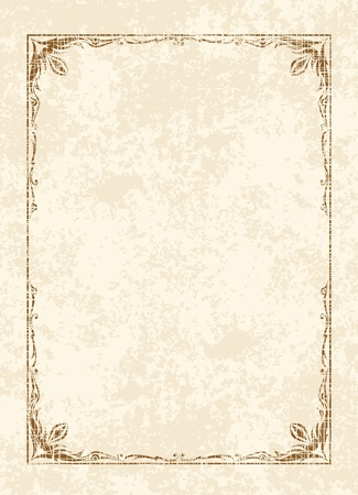 Elegant vintage background.  Vector