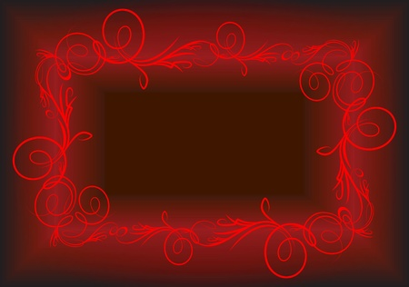 Elegant red background.  Vector
