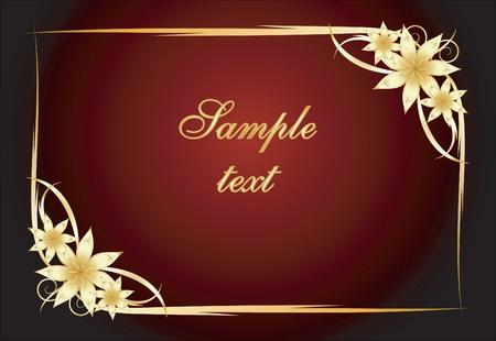 etiqueta: Elegant texts background  Illustration