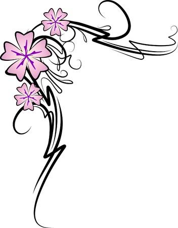 threadbare: Beautiful floral corner.