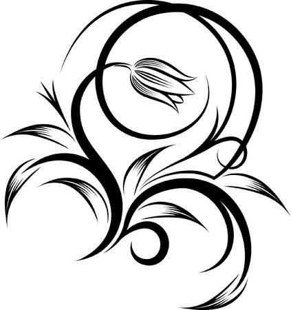 꽃 코너 일러스트