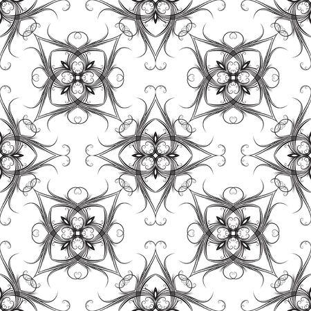 weldless: Good-looking seamless pattern. Illustration
