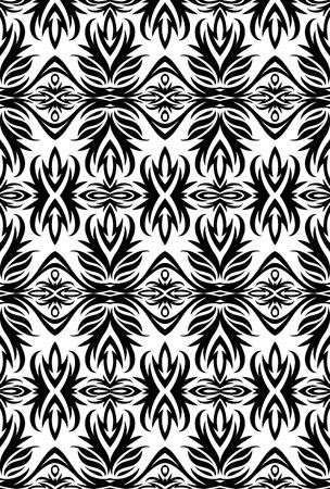 weldless: Elegant seamless pattern.  Illustration