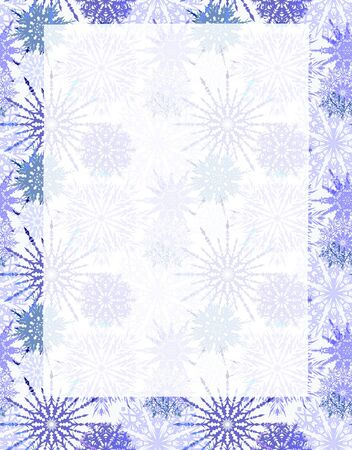 cold fusion: abstract winter background