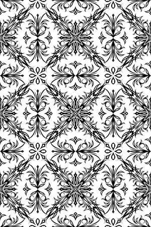 weldless: seamless pattern background Illustration