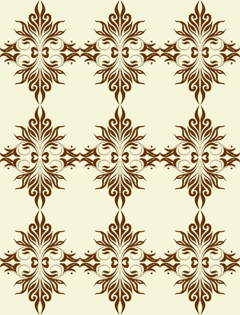 accent abstract: Good-looking seamles pattern.  Illustration