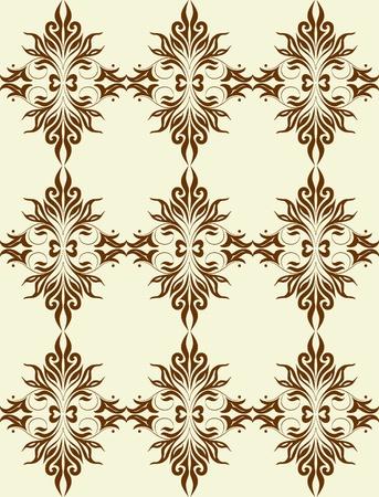 weldless: Good-looking seamles pattern.  Illustration