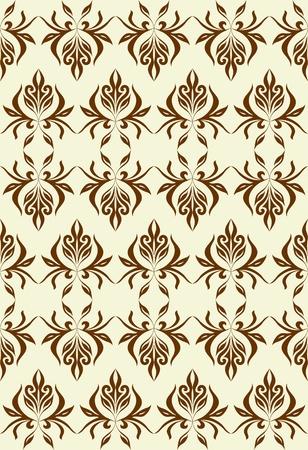 jointless: Good-looking seamles pattern.  Illustration